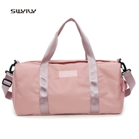 SWYIVY Men's Women Gym Bags Dry and Wet Separation Travel Storage Bags 2018 Waterproof Sport Training Handbags Storage Shoes