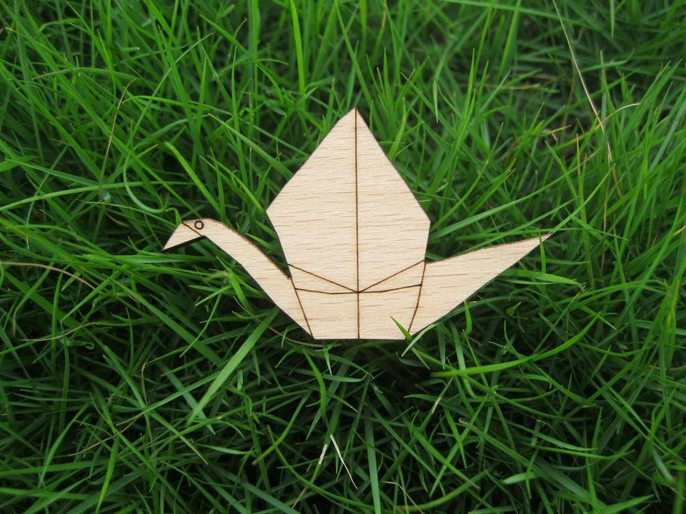 How to Make an Origami Flying Swan (with Pictures) - wikiHow | 720x960