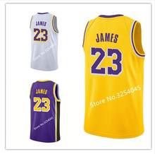 d5f44553d 2018-2019 New Season  23 LeBron James  24 Kobe Bryant 8 Throwback shirt