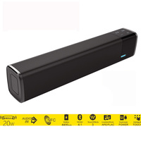 Grande potenza Altoparlante Portatile Bluetooth Super Bass Stereo Senza Fili HIFI Subwoofer Altoparlante Supporto Carta di TF per iPhone PC TV