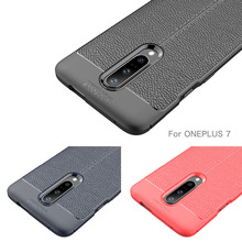 Oneplus 7 Case Silicone Luxury Protective Matte Back Cover For One plus Pro 6T 6 5 5T 3T Shockproof Funda