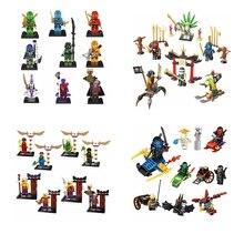 Super HeroesNinja Turtles Minifigures Kai JAY Lloyd Skylor Wrayth Master Chen Building Blocks  Brick Enlighten Educational Toys