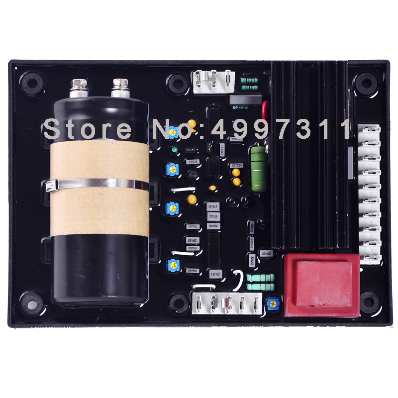 Chinese factory! Quality Diesel Generator AVR Controller Automatic Voltage Regulator AVR R448 for free shipping