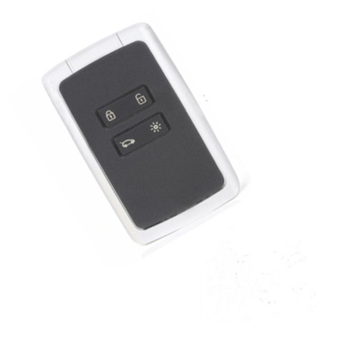 Wilongda Smart Car Key 4 button keyless remote key 434mhz Hitag AES 4A chip for megane