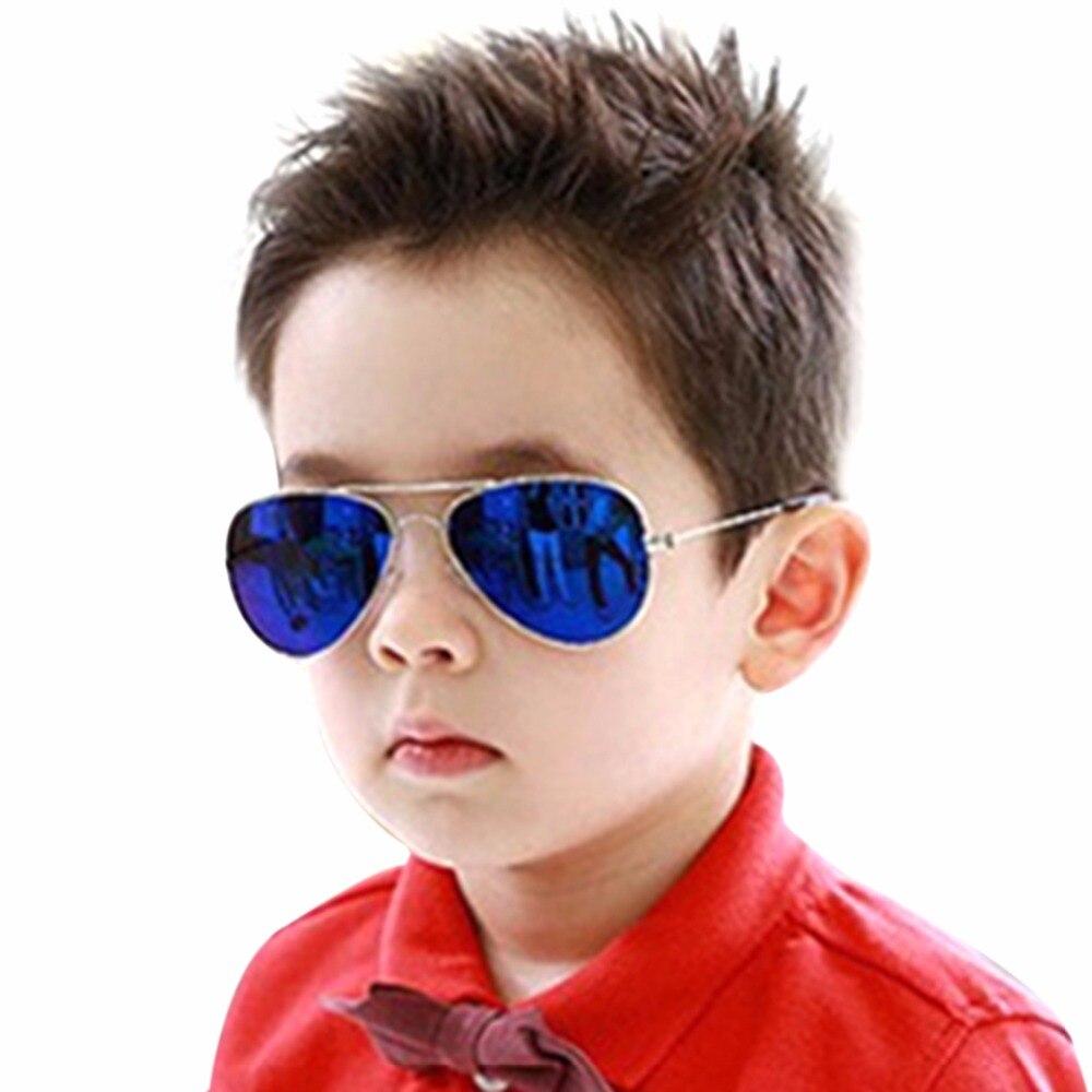 be4a8c9de53fc 2017 mode nouveaux enfants lunettes de soleil 100% Protection UV lunettes  de soleil pour enfants bébé fille garçons lunettes de soleil lunette de  soleil ...