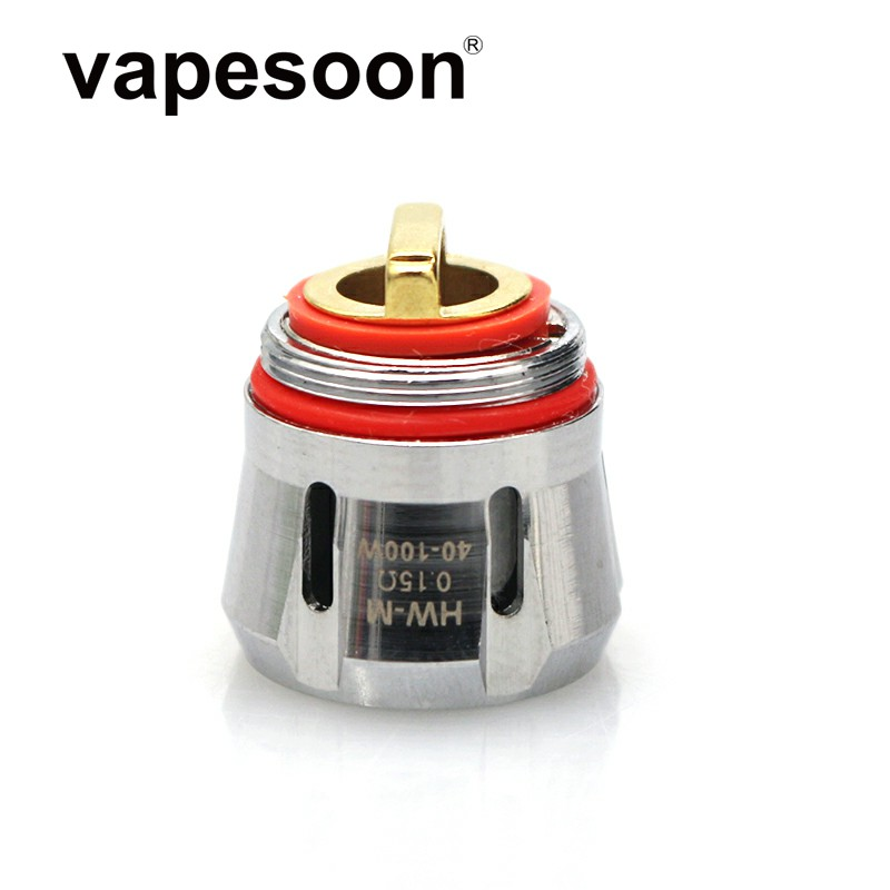 2 Pieces HW-M 0.15ohm HW-N 0.2ohm Coil Head Replacement Atomizer Core For Ello Duro Vate Mini TS Tank IJust 3 Pico S Kit