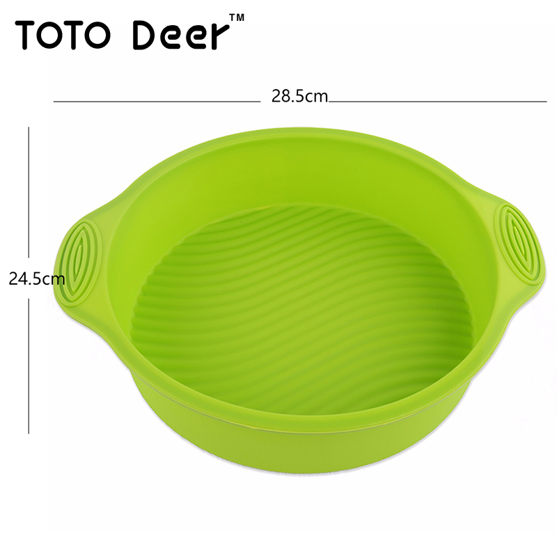 Cake Temperature In Microwave Oven: Round Silicone Cake Mold High Temperature Large Microwave