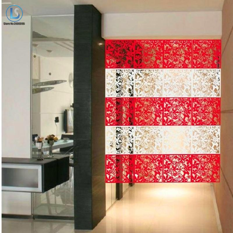 Free shipping Hanging folding screen set 8 pieces Fashion partitions Entranceway door TV cutout grilles A492
