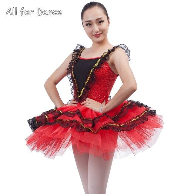 d5be58bc1 € 30.03 |Estilo español Ballet danza Tutu para adultos/niño rendimiento  Ballet traje bailarina traje en Ballet de La novedad y de uso especial en  ...