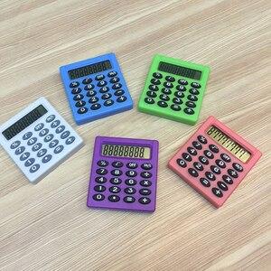 NOYOKERE Cartoon Pocket Mini Calculator Ha ndheld Pocket Type Coin Batteries Calculator carry extras
