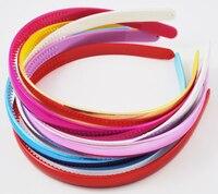 20 piezas acrílico hallazgos diadema headwear accesorios del pelo Clip de la cabeza DIY, Color mezclado, cerca de 11,5mm ancho, 12 piezas/bolsa