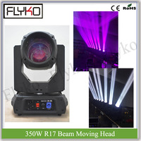 dj concert big show stage decor item 350W 17R beam moving head light linear focus