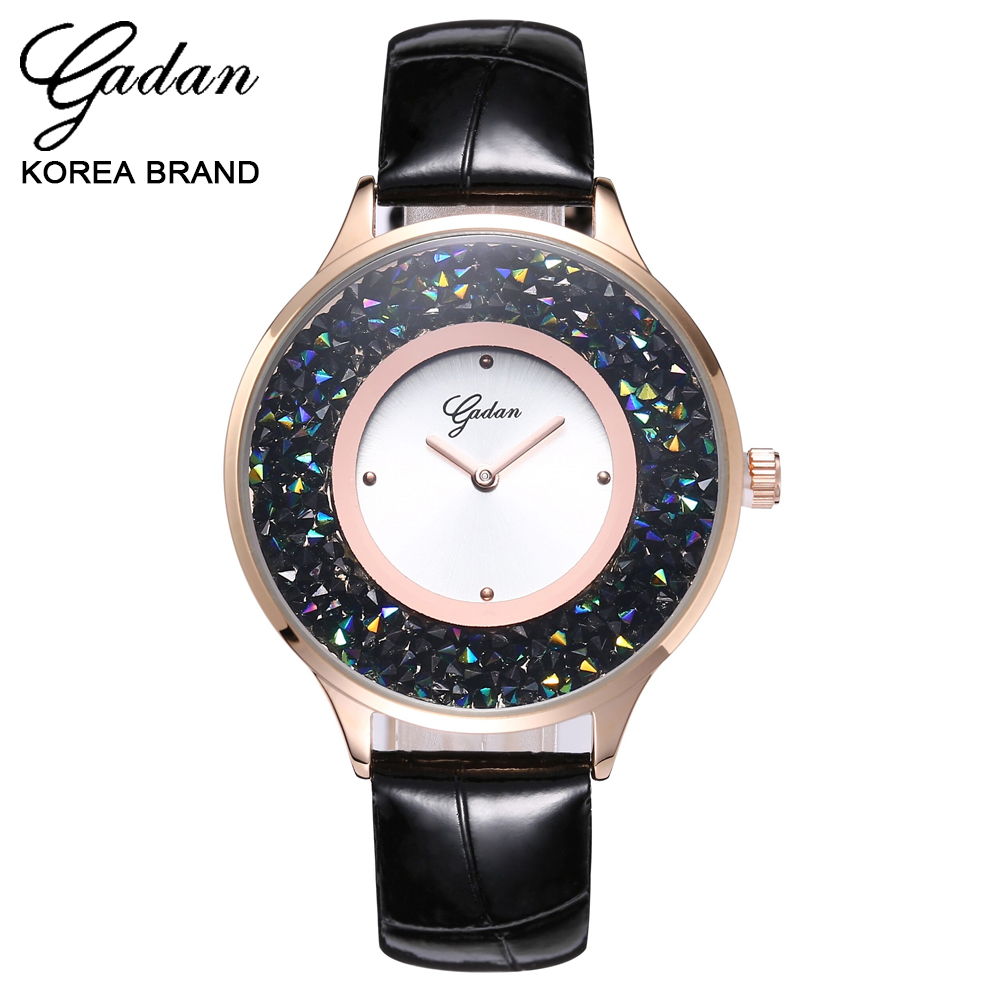 YADAN South Korea Is Waterproof Watch Female Fashion Watch Authentic Women All Over The Sky Star Fashion Quartz Watch Students
