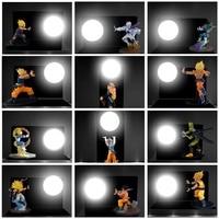 Night Lights Dragon Ball Son Goku Vegeta Figure LED Nightlight Strength Bombs Table Lamp Luminaria Room Decorative Lighting