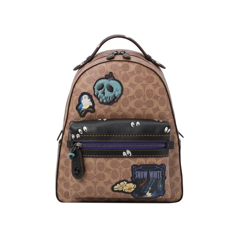 Backpac 32754 Coach khaki32716bpnsb 32754b4nq4 32716 Leder AxwBt65
