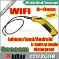 Goscam Wi-Fi Камера Инспекции Инструмент Высокого Качества Камеры Беспроводные Инспекция Змея Камеры Wi-Fi Эндоскоп GD8713 Для Мобильного Телефона