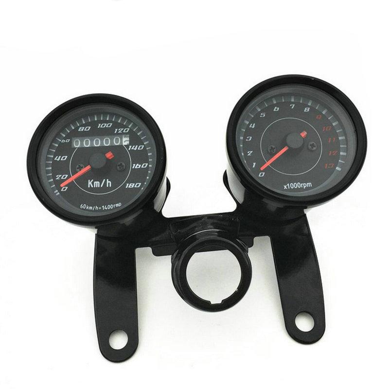 motorbike odometer motorcycle speedometer tachometer gauge. Black Bedroom Furniture Sets. Home Design Ideas
