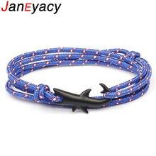 Многослойный браслет цепочка для мужчин и женщин модная веревка