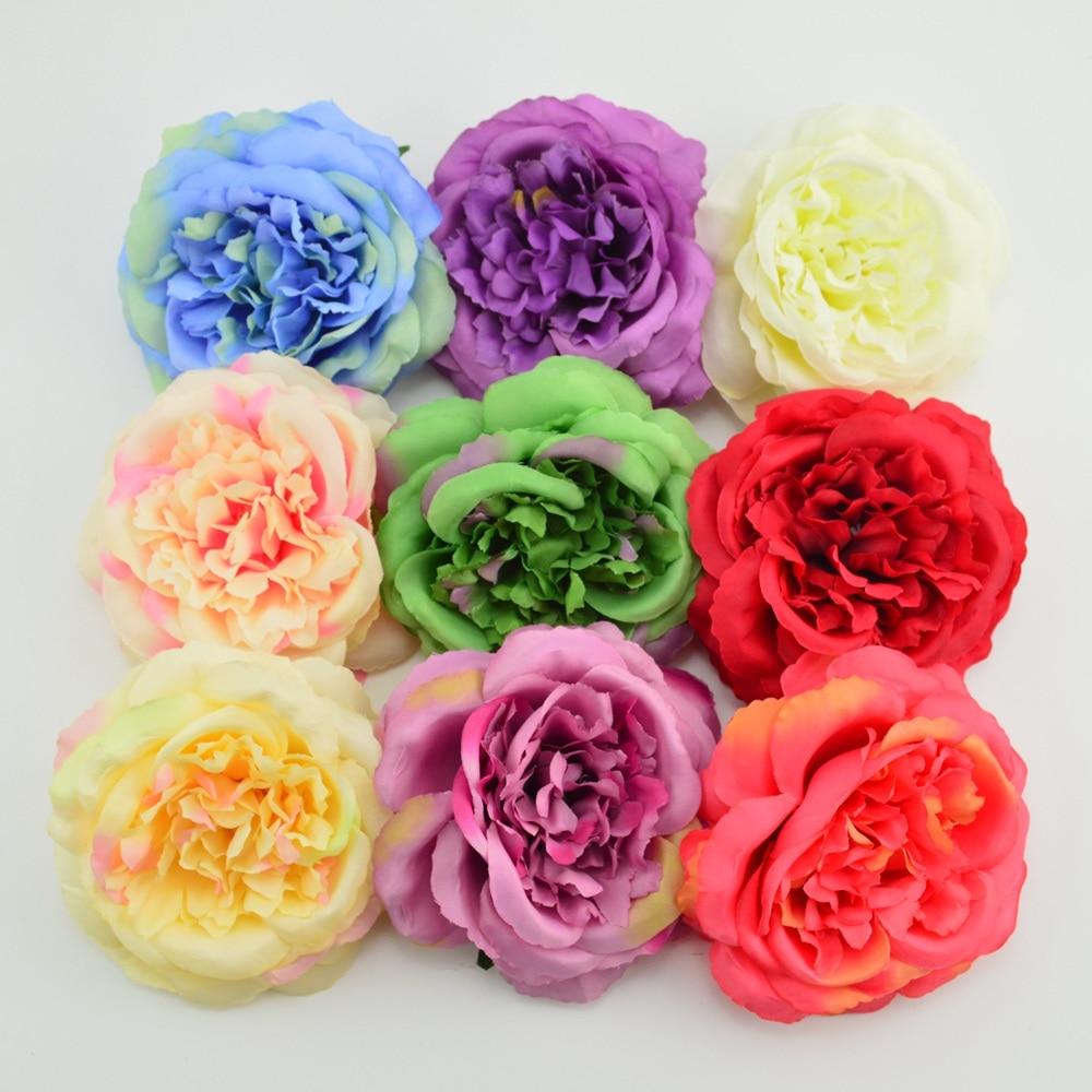 11cm Artificial Flower Cheap Fake Flower Handmade Home Wedding