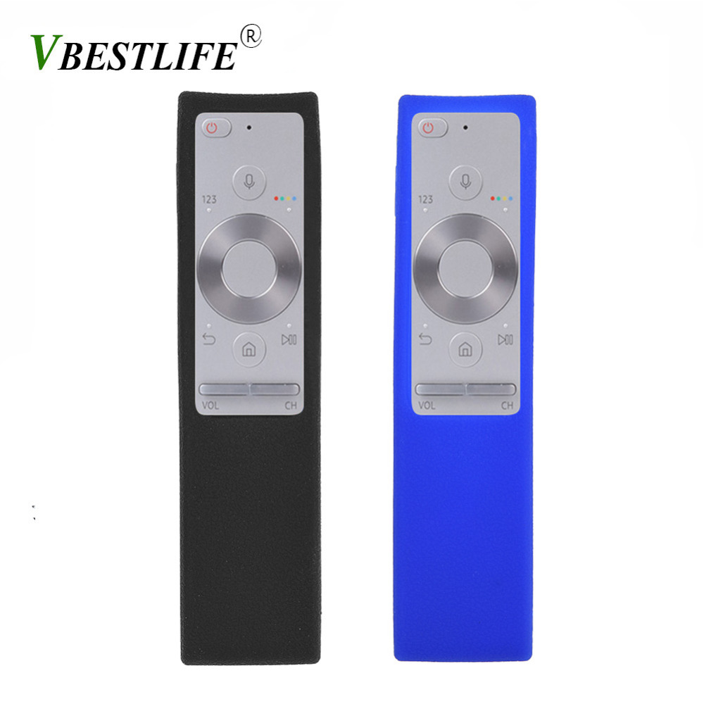 Shockproof Protective Silicone Cover Case for Samsung BN59-01265A TV Remote Black