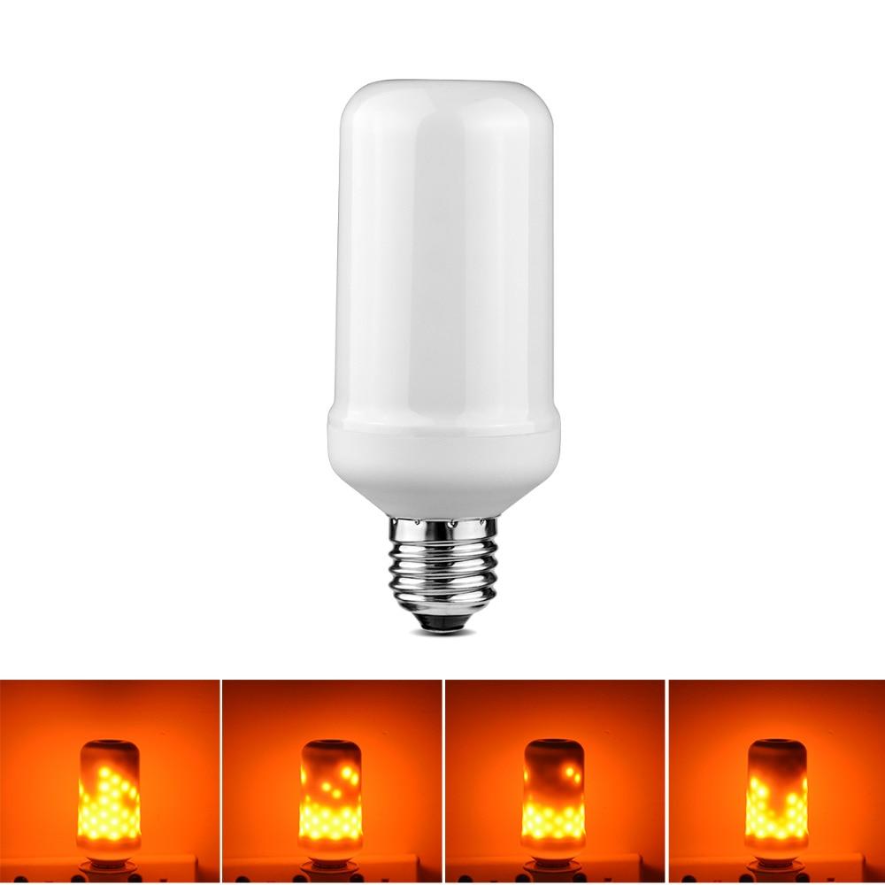 110 V 220 E27 E26 Led Lampe Feuer Flamme Wirkung LED Licht Emulation