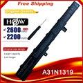 A31N1319 батарея для Asus X551 X551C X551CA X551M X551MA X551MAV-RCLN06