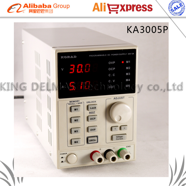 High Precision Programmable Adjustable Digital DC Power Supply KORAD KA3005P 30V/5A USB Connect Computer EU 220V uni t utp1305 dc power high precision programmable adjustable digital dc power supply 32v 5a usb connect computer eu 230v