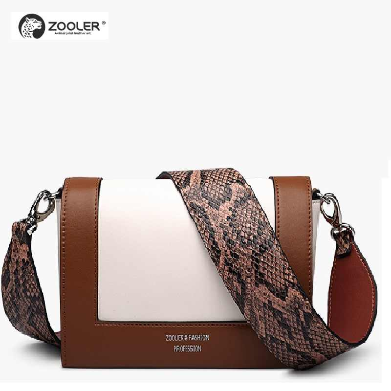 8fbfe5accbb7c ZOOLER New shoulder Bags type women famous brands 2019 genuine leather bag  woman Messenger