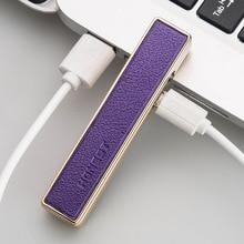 12pcs/lot 5 color USB plasma encendedor cigarette tool