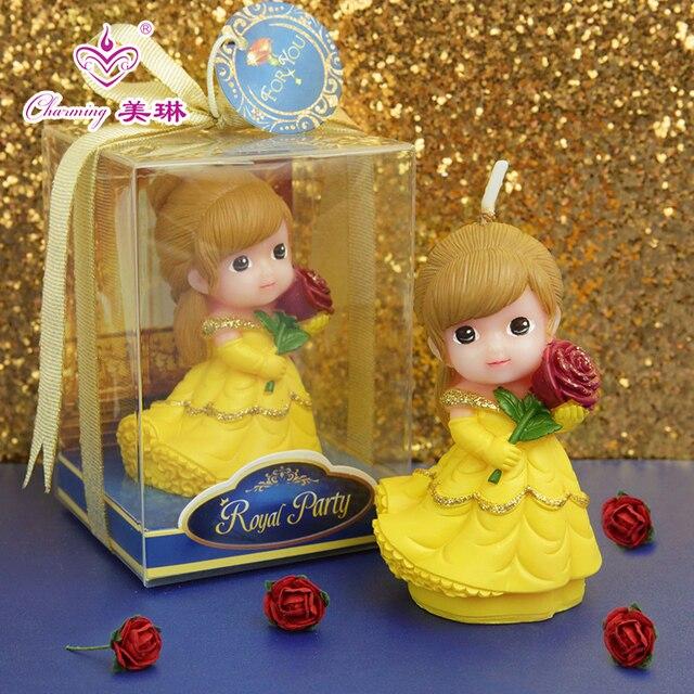 Los Niños Es Lindo Pastel Decoración Rosa Velas Princesa Bebé Niña Cumpleaños Fiesta Regalo