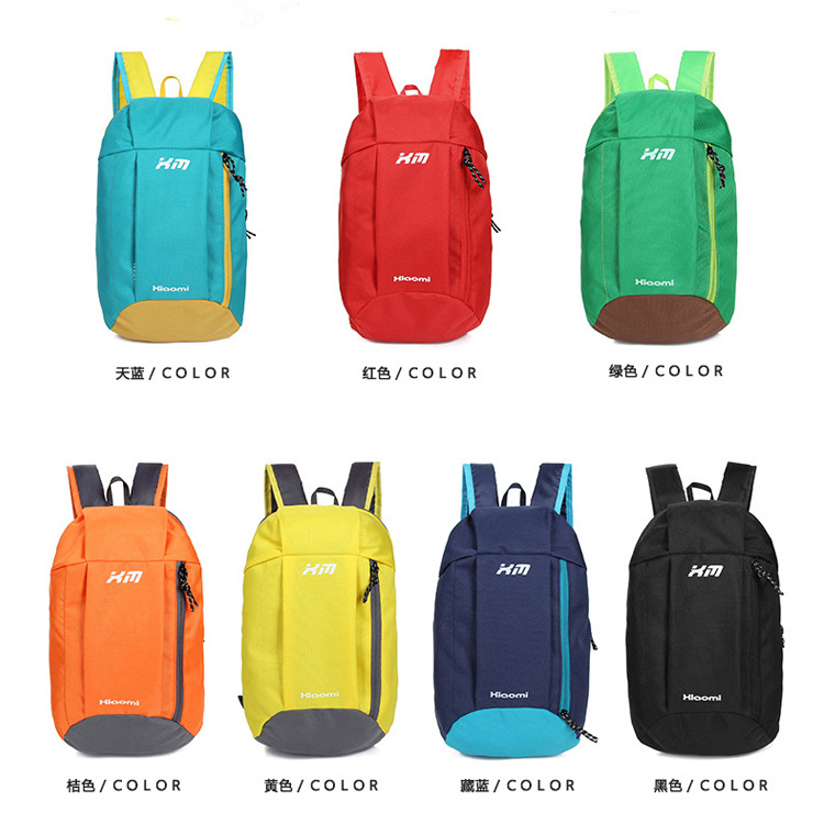 5 Colors Ultra-light Durable Men Women Unisex Shoulder Bag Outdoor Hiking Camping Travel Backpack Nylon Waterproof Sport Bag