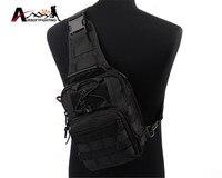 1000D Molle Tactical Low Profile Bag Messenger Assault Shoulder Backpack Utility EDC Sling Bag Pack Men