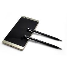 12 g/pc tabletas de teléfono chino stylus ball pen 100 piezas mucho láser personalizado con su obra de arte y texto/ nombre/logotipo gratis
