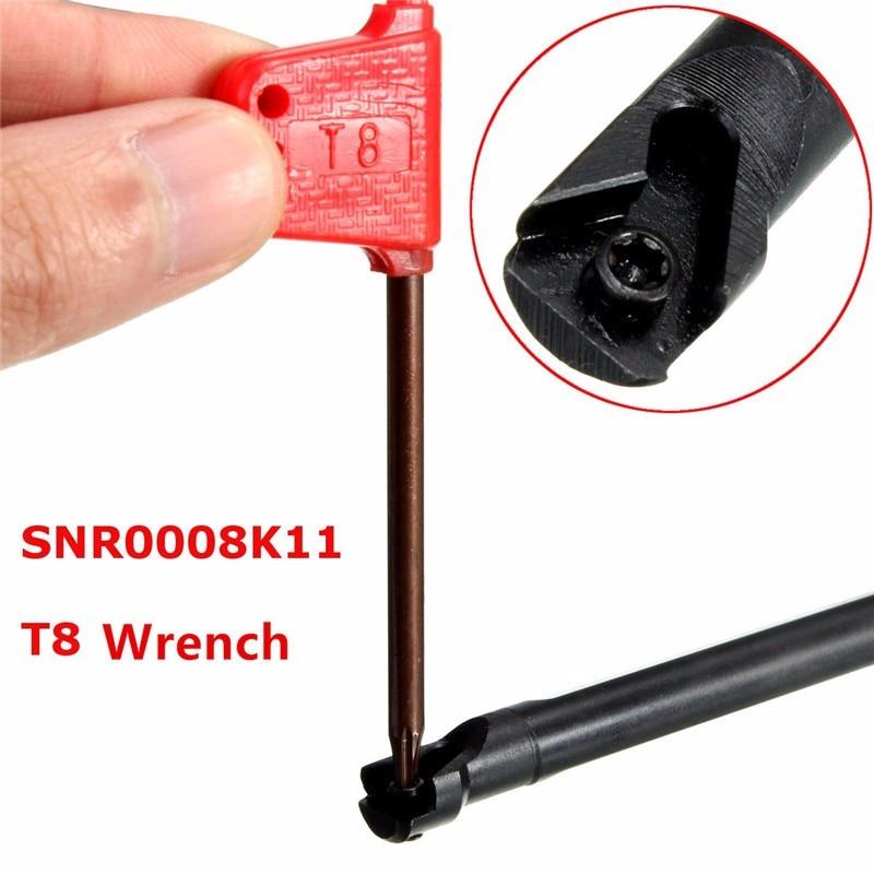 SNR0008k11 Threading Boring Bar Turning Tool Holder For 11 IR 1/4 CNC Lathe 125mm x8mm Brand New SNR08K11 SNR008K11 new arrival snr0008k11 internal threading boring bar turning tool holder for 11 ir 1 4 cnc lathe 125mm x8mm