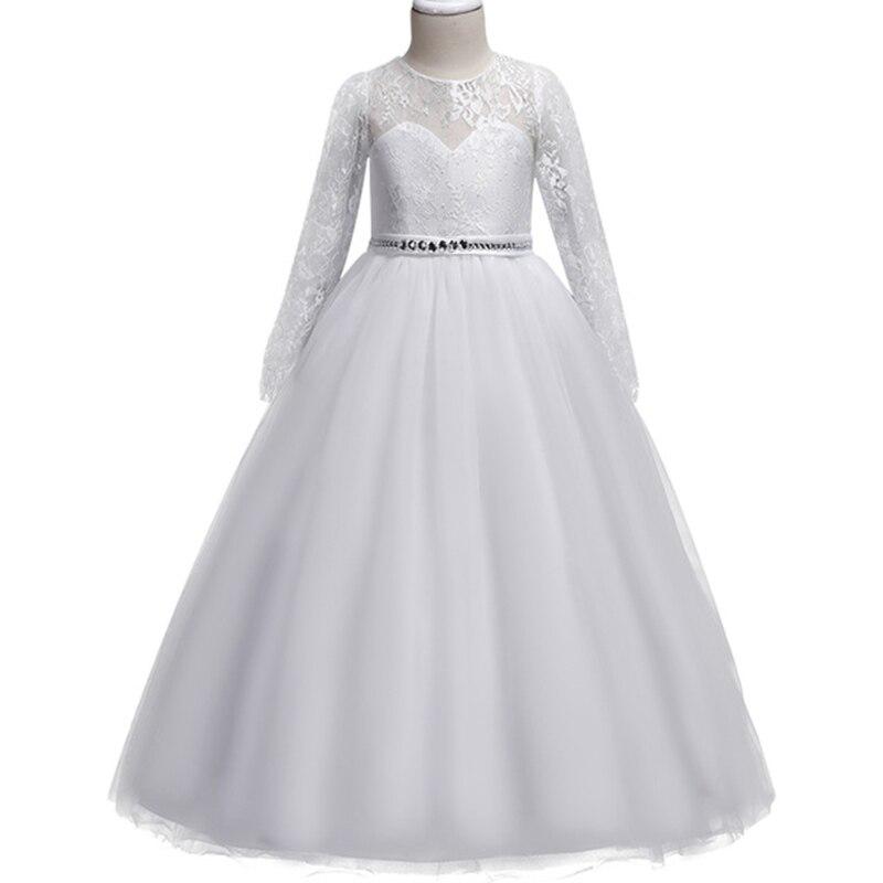 ふわふわ vestido レースのドレスの女性フラワーガールドレスガールズエ初聖体プリンセスパーティーベビーチュチュ衣装