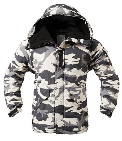"""Премиум """"SouthPlay"""" Зимний Сезон Водонепроницаемый 10000 мм согревающие лыжные и сноубордические коричневые Camoflage куртки - Цвет: White Camo Jacket"""