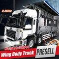 NUEVA LEPIN 23008 4380 unids serie técnica MOC camión Modelo Building blocks Ladrillos Compatible boy brithday regalos 1389