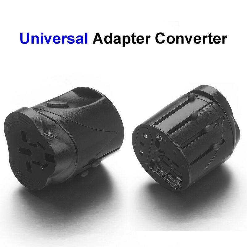 100pcs Universal US EU AU UK Plug Adapter AC Travel Power Adapter Converter Outlet
