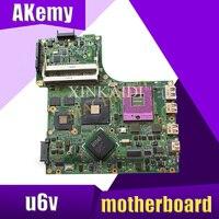 08G2006UV20R For ASUS U6V laptop motherboard REV2.0 PM45 PGA478 DDR2 9300M 08G2006UV20R 100% tested intact