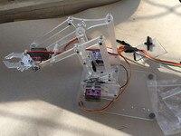 Fussor MeArm V1.0 комплект механической рукоятки с микро сервоприводом DIY (без основной платы)
