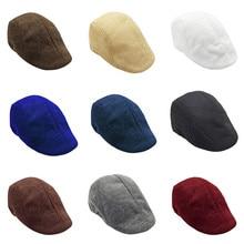 Hawcoar Men Fashion Visor Hat Sunhat Mesh Running Sport Casual Breathable Beret Flat Cap кепка casquette Wholesale Free Ship Z5