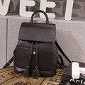Bolso de hombro femenino de las mujeres de Japón y Corea Del Sur versión pu mochila señoras de la manera simple salvaje marea mini bolso nuevo