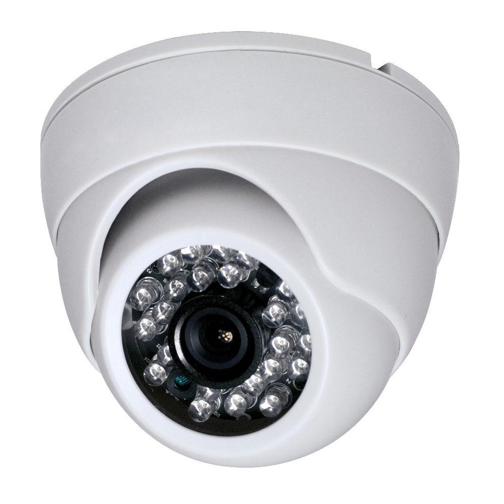 HD Cmos 3.6mm CCTV Home Security white IR Color night video Dome Camera 1200TVL 1 3 cmos 1000tvl indoor security cctv camera 6pcs blue ir led home video surveillance hd night vision video mini dome camera