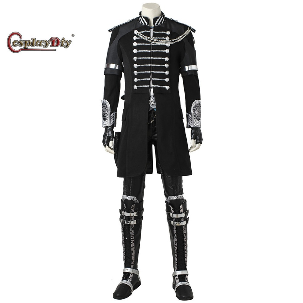 Cosplaydiy Movie Game Final Fantasy XV Noctis Lucis Caelum Cosplay Costume Adult Men Halloween Carnival Full Outfit Custom Made
