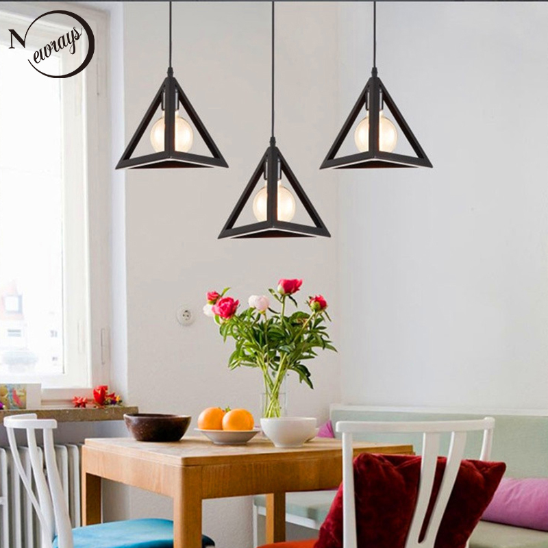 Nordic industrial minimalist LED E27 painted pendant light for dining living room bedroom study balcony restaurant hotel room  Nordic industrial minimalist LED E27 painted pendant light for dining living room bedroom study balcony restaurant hotel room