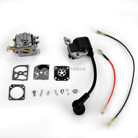 For ZAMA C1Q S43 S57 S137 S152 Chainsaw Carburetor Carb Kit With Ignition Coil Fit Stihl