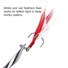 Goture Fishing Trout Spoon Metal Lure Bass Fishing Spinner Bait 7g 10g Stainless Mustad Hooks With Feather Artificial Bait