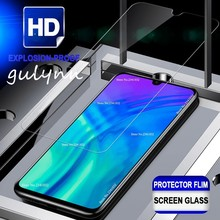 цена 9H Tempered Glass For Huawei Honor 8X 8A 8C 8S Screen Protector for huawei Honor 10 10i 20 Lite Pro  Protective Glass Cover Film