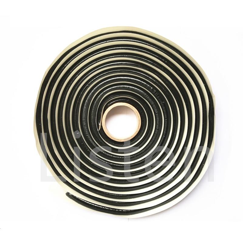 Listen 1 Piece Black BUTYL RUBBER GLUE HEADLIGHT SEALANT RETROFIT Reseal HID Headlamps TAILLIGHT Shield Glue Tapes For Car