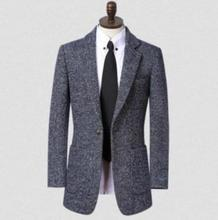 Teenage dark blue casual woolen coat men suits overcoat mens cashmere coat casaco masculino inverno england plus size S – 9XL